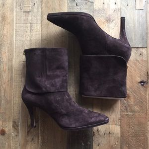Adrienne Vittadini Suede Boots