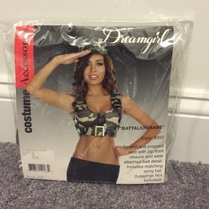 Halloween Costume - Sext Army Girl Costume