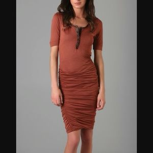 ALC dress with snakeskin trim!