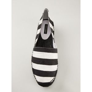 COMING SOON! Dolce & Gabbana Striped Espadrilles