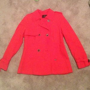 Zara red light jacket great condition size m