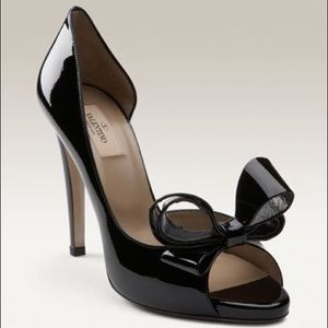 COMING SOON! Valentino Couture Bow Pump 37.5