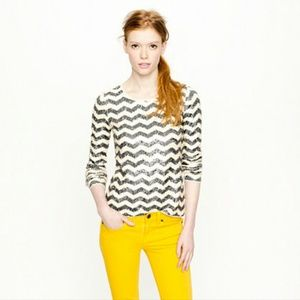 J. Crew Tops - JCREW sequin long sleeve shirt!