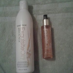 biolage Other - Matrix Exquisite oil shampoo and replenish treat.