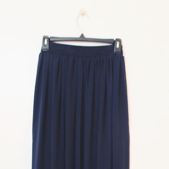50 american apparel dresses skirts chiffon navy