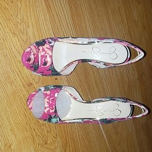 Floral Jessica Simpson shoes