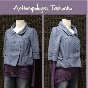 "Anthro ""Twilight Linen Jacket"" by Taikonhu"