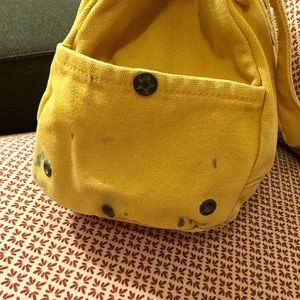 Converse One Star tote bag yellow
