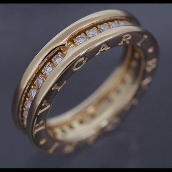 bvlgari b zero diamond ring