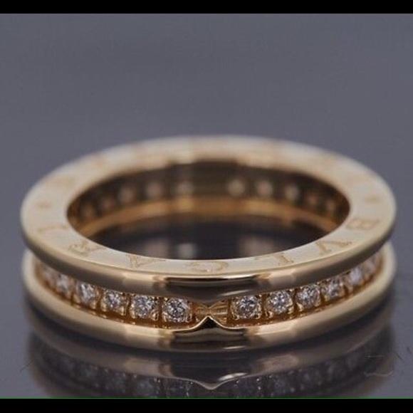 bulgari jewelry bvlgari b zero diamond ring