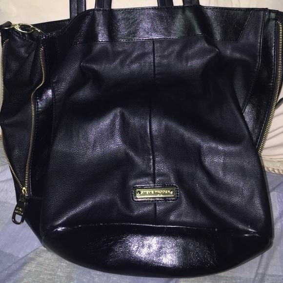 ab342d75c8 Steve Madden Bags   Black Leather Bag   Poshmark