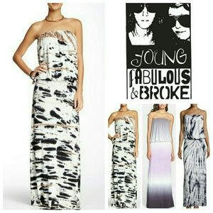 Young Fabulous & Broke Dresses & Skirts - Young Fabulous&Broke Strapless Dress