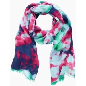 Kate Spade Limited Edition Jumbo Floral Silk Scarf