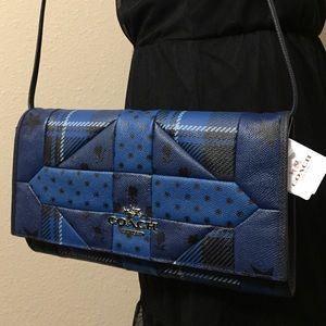 COACH CLUTCH IN PRINTED PATCHWORK LEATHER I