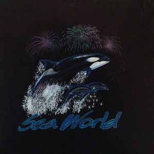 Sea World T-Shirt . Clean w/ great Logo.