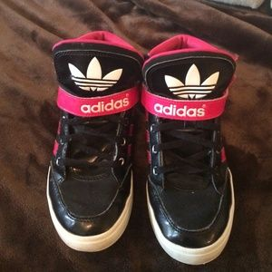 Adidas Shoes For Girls High Tops | Poshmark