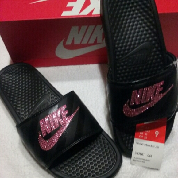 3058997fa Customized Nike slides