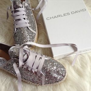 SALE! Charles David glittery shoes