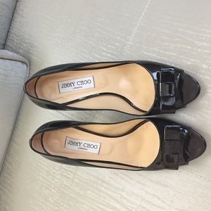 Jimmy choo black 39.5