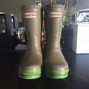 Hunter Boots Boots - Kids size 10 Wellies
