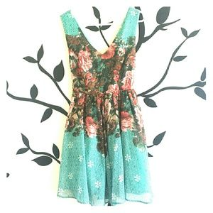 ***on sale*** flower dress with tutu liner