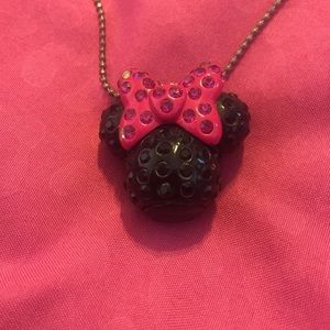 Minnie Mouse necklace from Disneyland