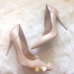 Steve Madden Classic Nude Pumps