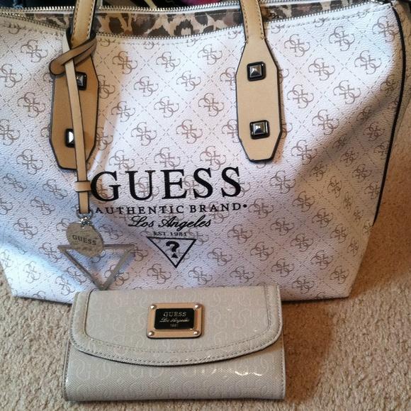 Guess Bags | Bag And Wallet Set | Poshmark
