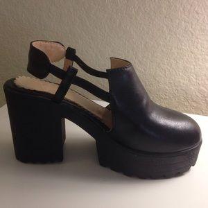 Black Heels Unif Black Heels