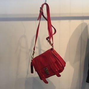Proenza Schouler Handbags - Proenza Schouler PS1 mini crossbody bag in red