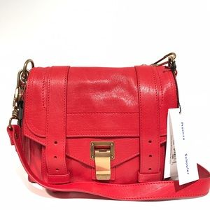 Proenza Schouler Handbags - Proenza Schouler PS1 mini crossbody bag in red