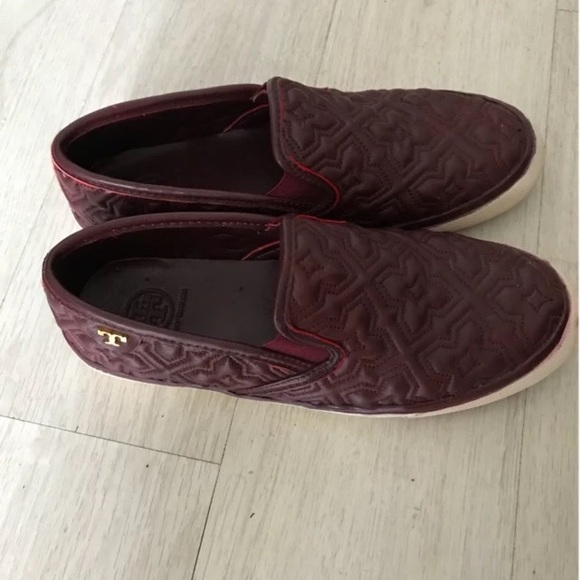 Tory Burch Jesse Quilted Leather Slipon