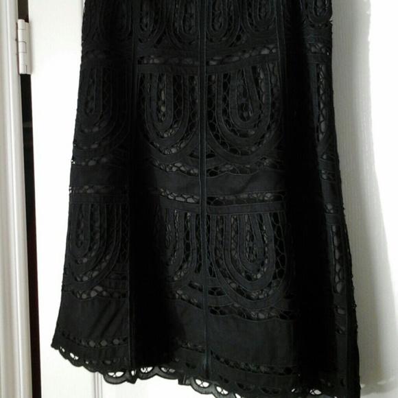 f00e354503fa4 Ann Taylor Dresses   Skirts - Black lace skirt