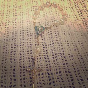 Jewelry - Mini Pearl Rosary