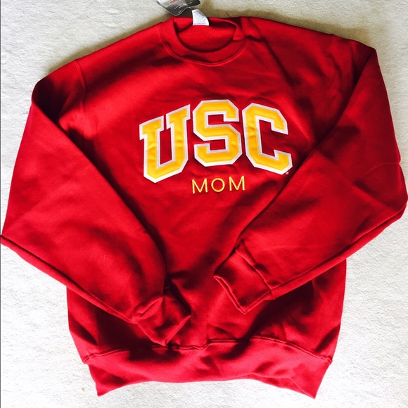 58% off Sweaters - USC mom sweatshirt from Kimiko's closet on Poshmark