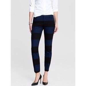 Banana Republic Sloan Rugby Stripe Slim Pants