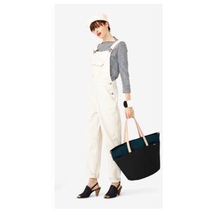 Kate Spade Saturday Cream Overalls
