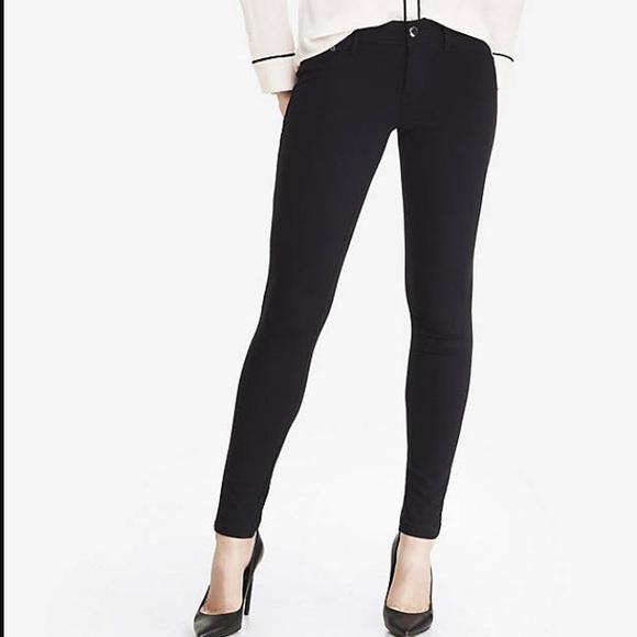 5a7d095d627a2 Express Pants | Ponte Knit Five Pocket Leggings Size Xs | Poshmark