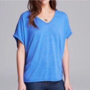 Alternative Apparel Tops - NWOT ALTERNATIVE APPAREL Shirt Poncho Top Blue OS