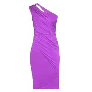 'One cold shoulder' dress