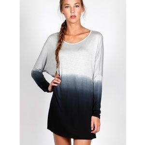 """Watercolor"" Dip Dye Ombre Tunic"