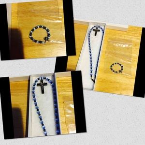 Jewelry - Infant Rosaries & Matching Bracelet