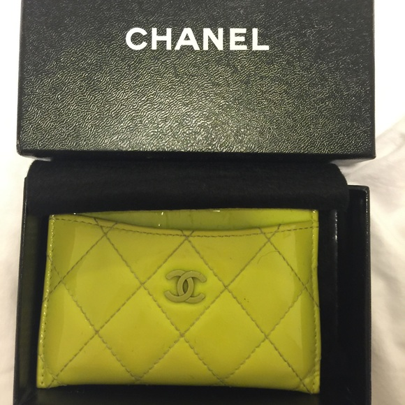 e85ab9eae26dc8 CHANEL Clutches & Wallets - Authentic Chanel Business Card Holder
