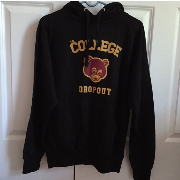 Kanye Sweaters West The College Dropout Hoodie Poshmark