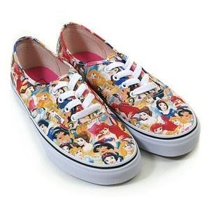462482059e7 Vans Shoes - NWT Vans Disney Women s 8.5 Multi Princess Shoes