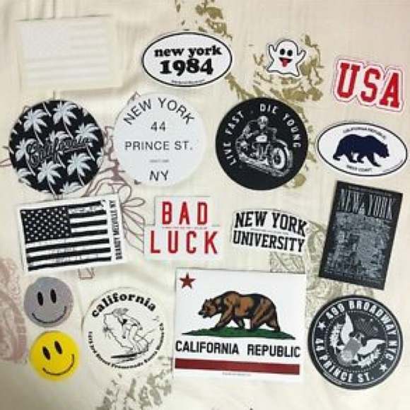 754ba2cddb88 ... FREE WITH PURCHASE brandy melville stickers ...