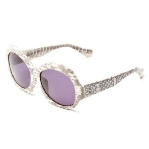 House of Harlow 1960 Accessories - House of Harlow Rachel Snakeskin Sunglasses. NIB
