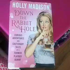 Down the Rabbit Hole hardcover book
