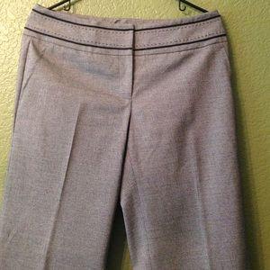 Classiques entier Pants - Classiques Gray Stitched Pants Slacks