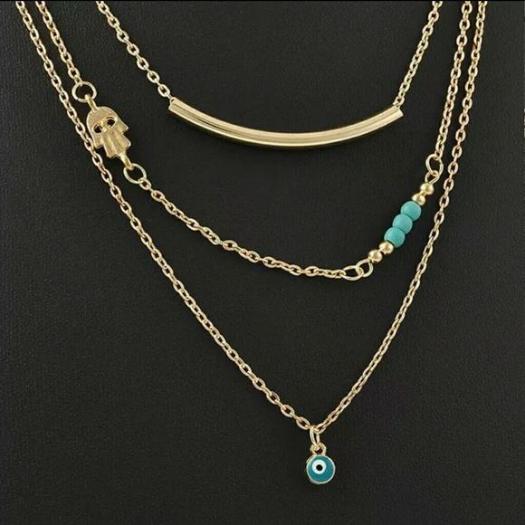 65 fashion jewelry accessories hamasa third eye
